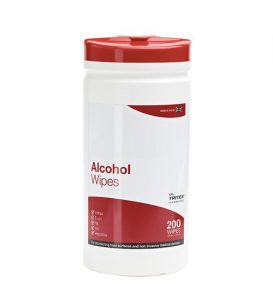 alcohol wipes (200 wipes)