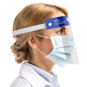 medical face visor